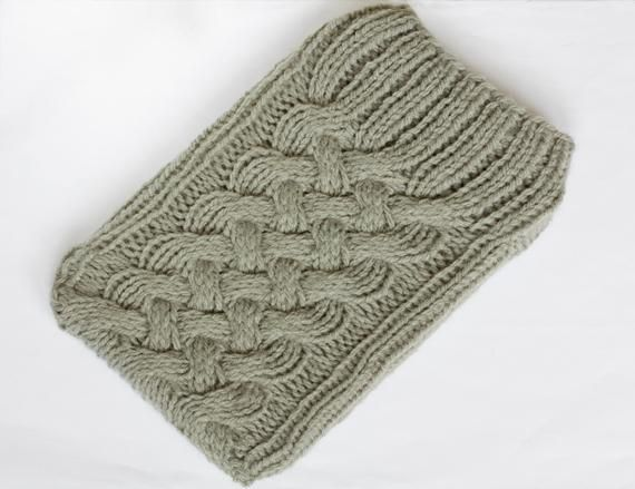 Cabled Kindle Sleeve Handicraft Patterns And Craft