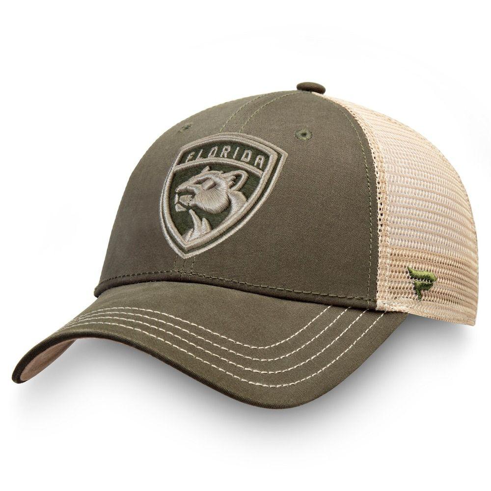 Men S Fanatics Branded Green Florida Panthers Modern Utility Trucker Adjustable Hat Adjustable Hat Hats For Men Hats