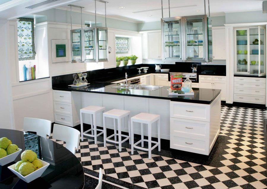 Piastrelle Da Cucina Moderne : Foto di cucine moderne con penisola einrichten und wohnen