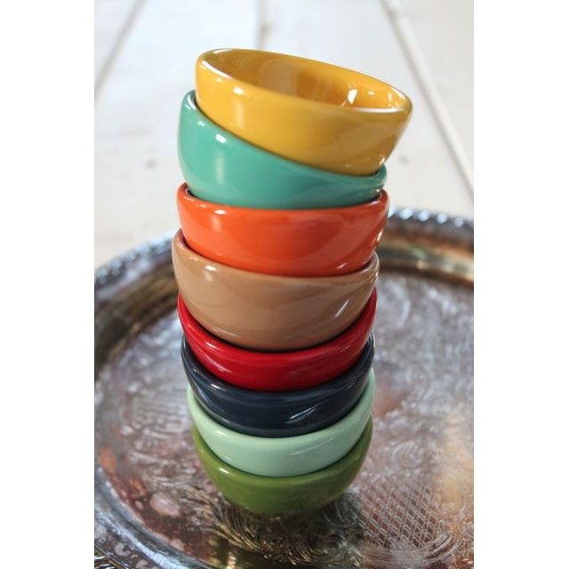 Go Nuts Rainbow Bowls - Set of 8 | dotandbo.com; $19.99