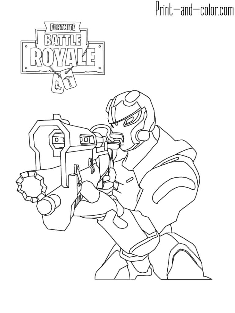 Dibujos Para Colorear De Fortnite E1542380446867 Fortnite