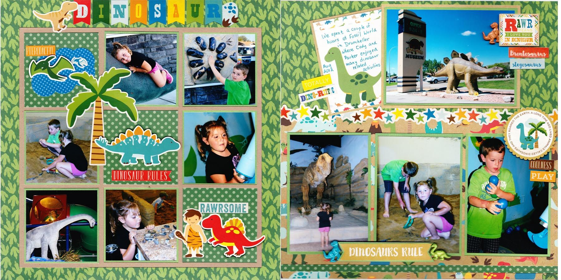 Dinosaur - Echo Park - Dino Friends Collection #dinosaurpics