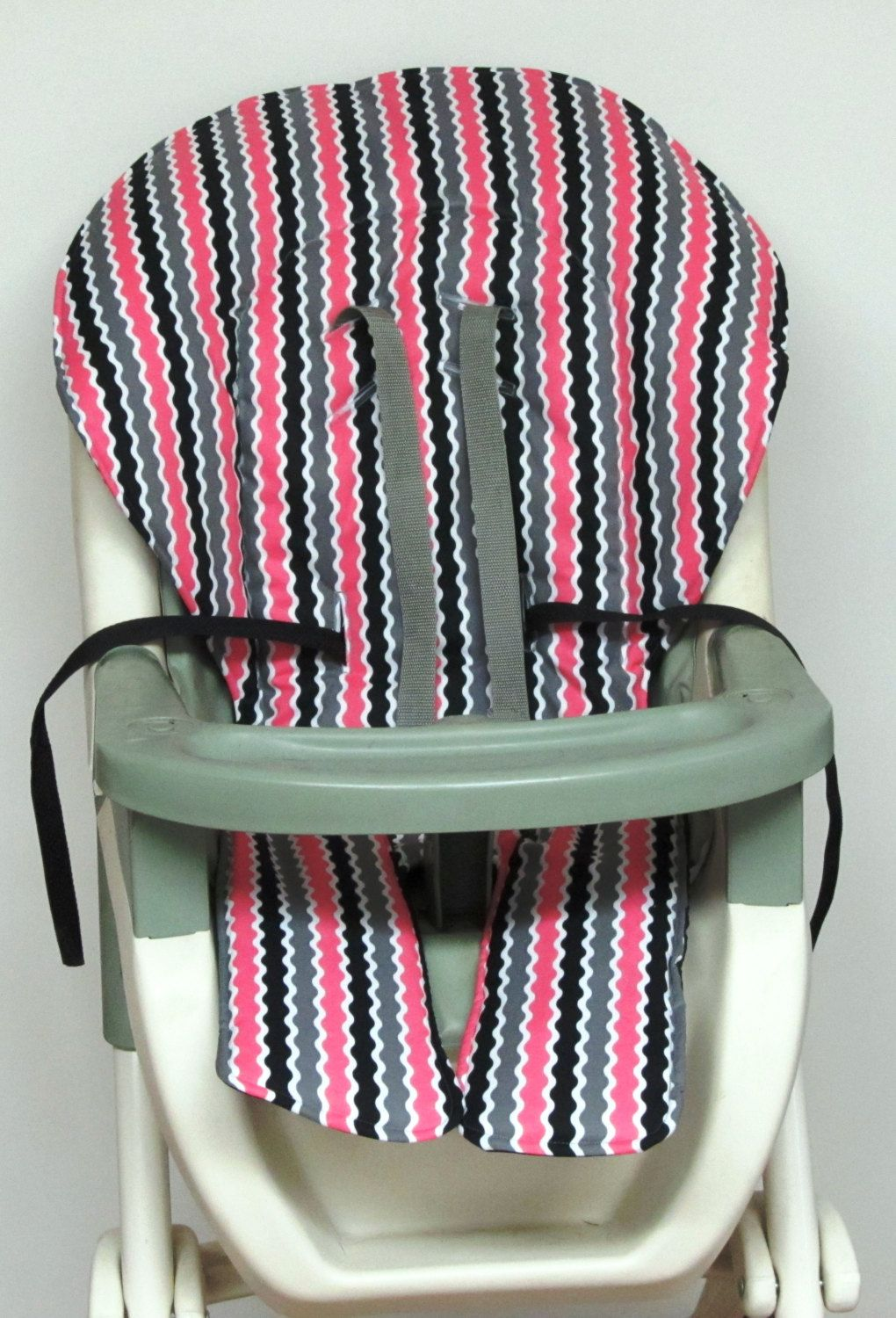 Graco High Chair Cover Kids And Baby Feeding Accessory Pad Replacement Nursery Decor Child Care Ric Rac Print By Sewingsilly On
