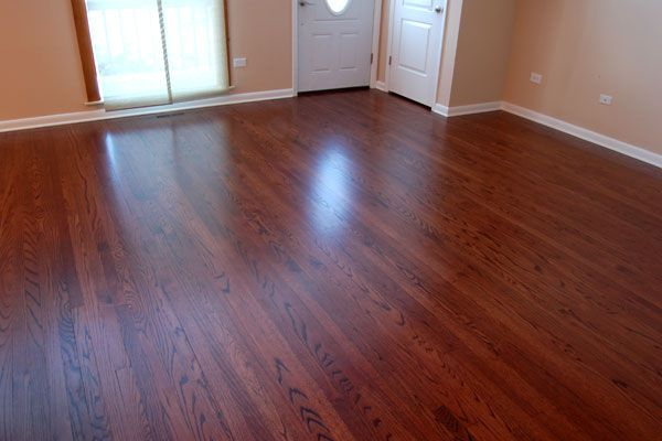 Rosewood Stain on Red Oak Naperville Hardwood Floor Refinishing Photos. Rosewood Stain on Red Oak Naperville Hardwood Floor Refinishing