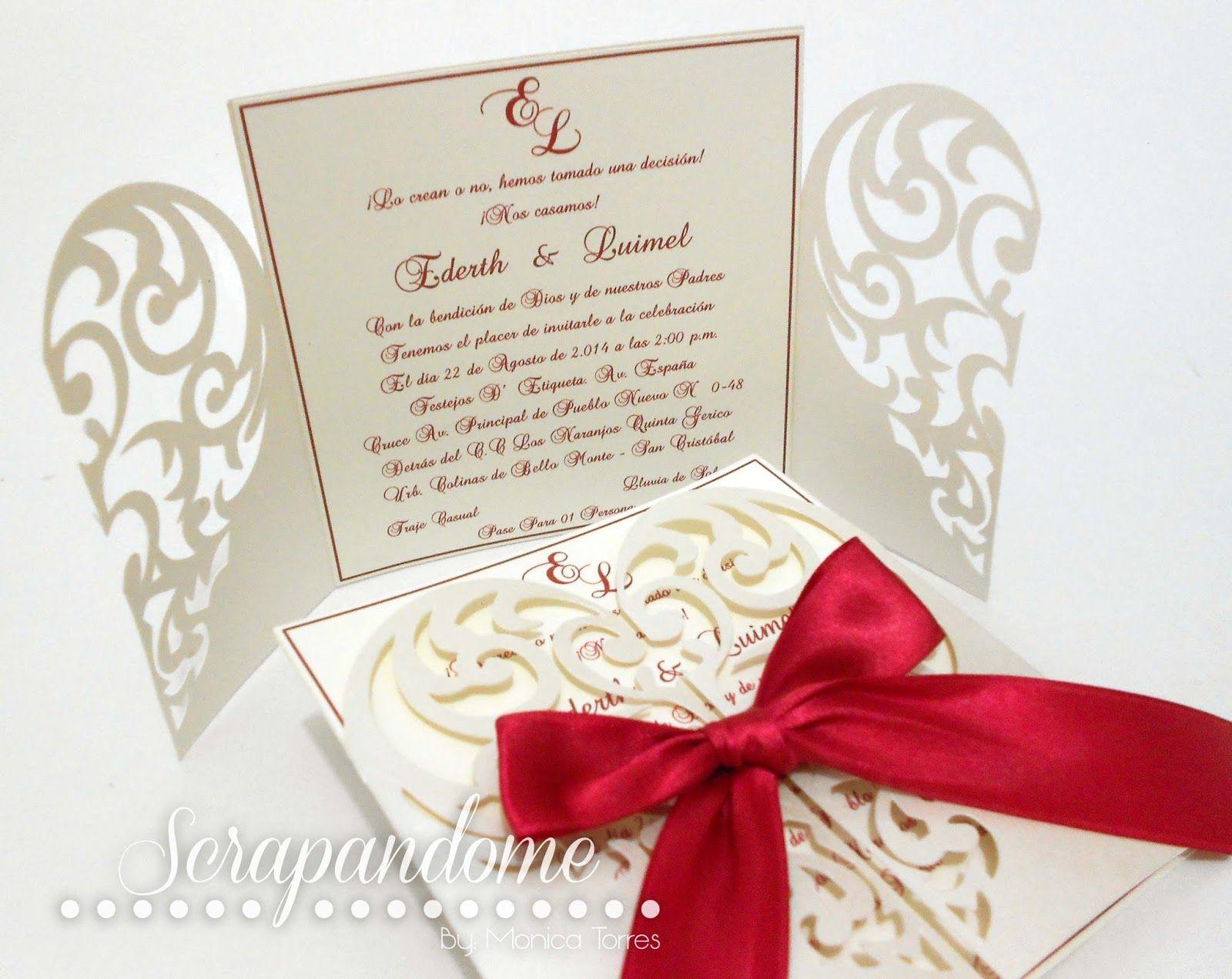 Invitaciones de Boda elegantes | tarjetas bodas | Pinterest ...