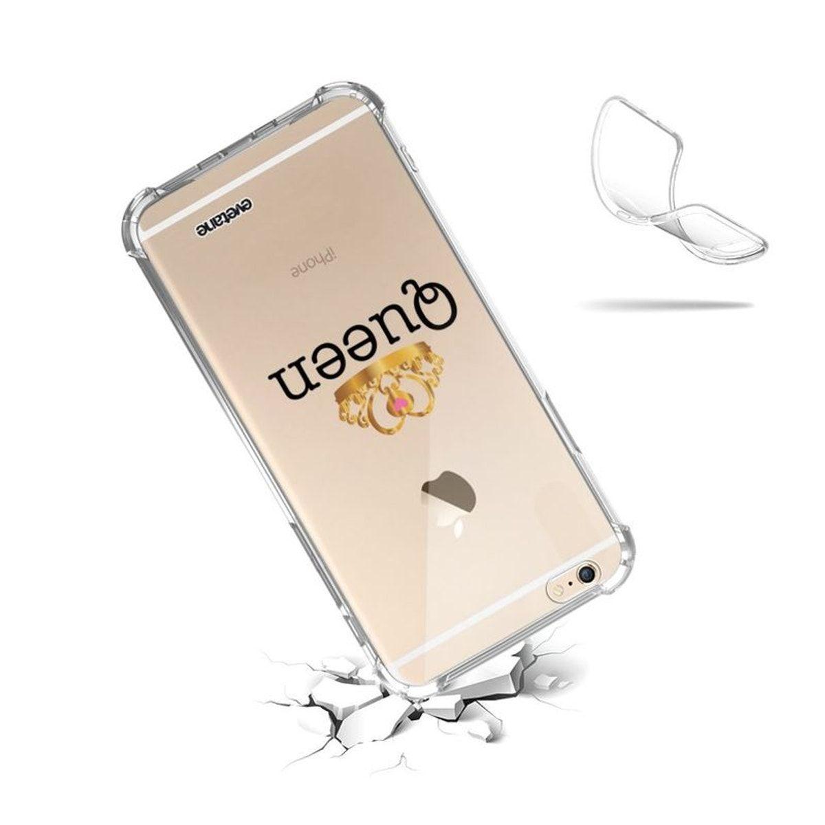 Coque Iphone 6 Iphone 6s Anti-choc Souple Avec Angles Renforcés ...