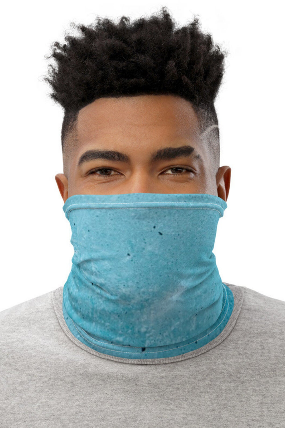 Triangle Geometric Abstraction Neck Gaiter Warmer Windproof Mask Balaclava Face Mask Sports Mask For Outdoor Men And Women Free UV Personalized