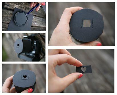 DIY Bokeh Shape (With images) | Photo techniques, Bokeh ...