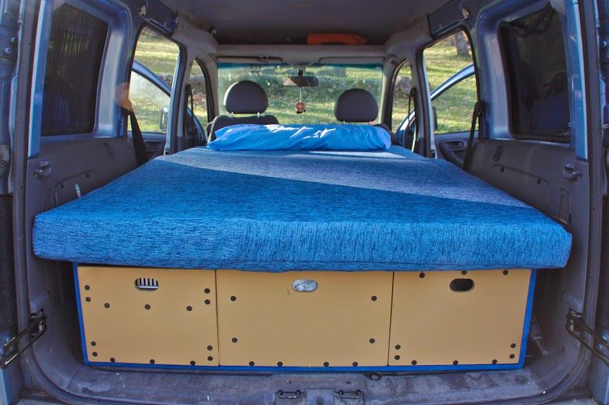 cajón multiusos para opel combo | caravans and moving homes
