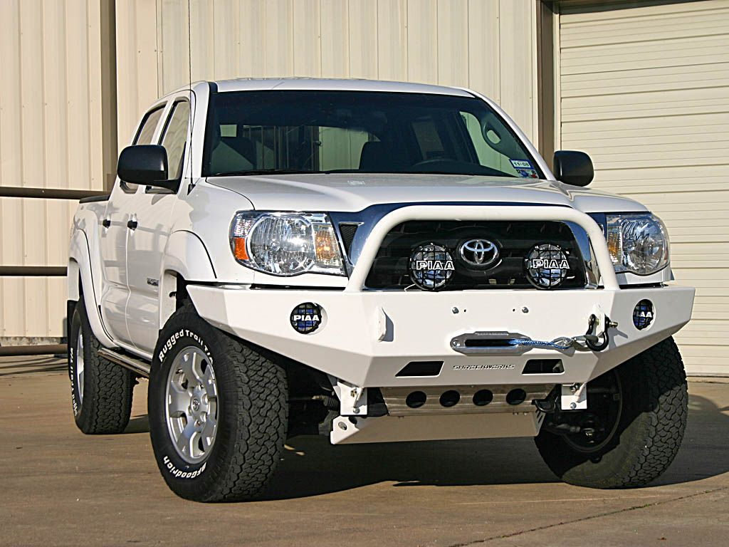 Love the 1 hoop tacoma winch bumper