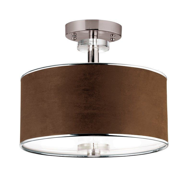 View the Eurofase Lighting 15330 Three Light Down Lighting Semi Flush Ceiling Fixture from the Savvy Collection at LightingDirect.com.