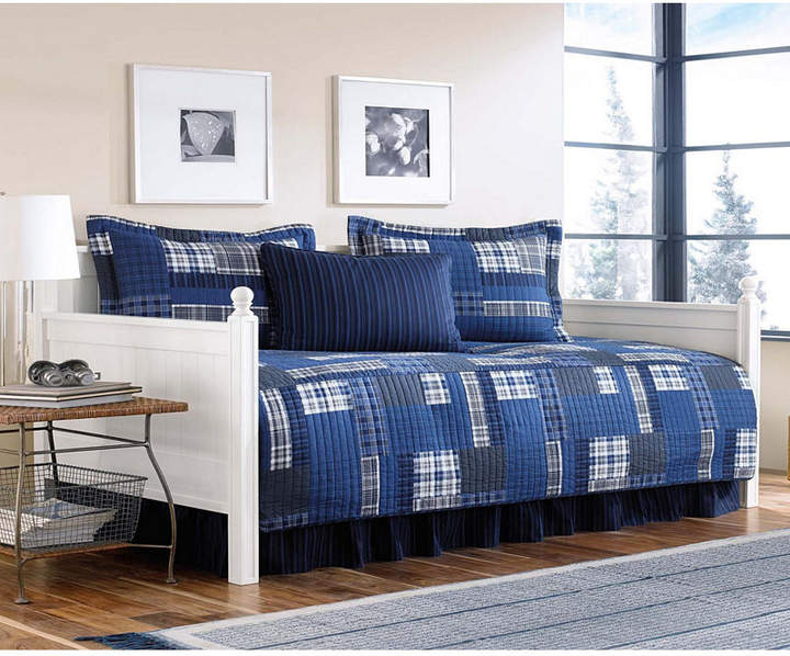 Eddie Bauer Eastmont Navy Daybed Set Reviews Comforters Fashion Bed Bath Macy S Daybed Sets Daybed Cover Sets Daybed Covers