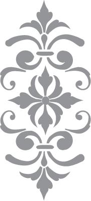 Fleur De Lis Pochoir Fleur Modeles Pour Scie A Chantourner Mur Au Pochoir