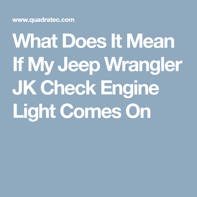 How To Check Your Jeep Wrangler Jk Obd2 Fault Code With Images