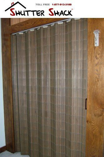 Folding Closet Doors Basswood Woven Wood Accordian Style