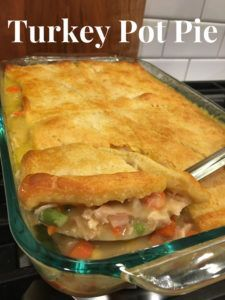 Turkey Pot Pie recipe casserole