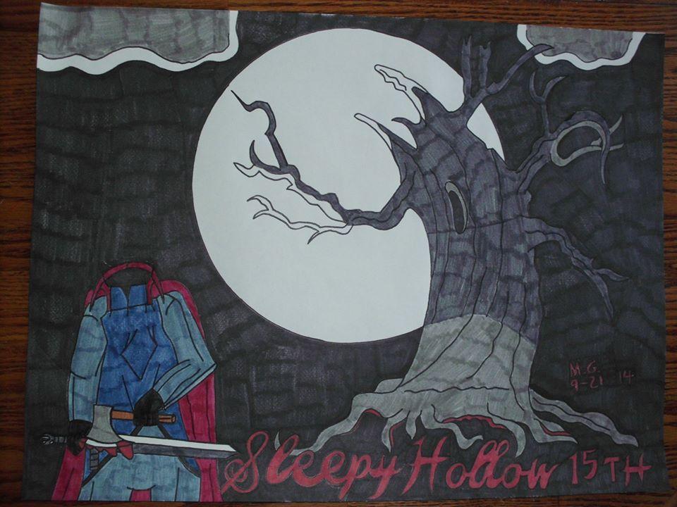 Sleepy Hollow 15th Anniversary Artwork from 2014