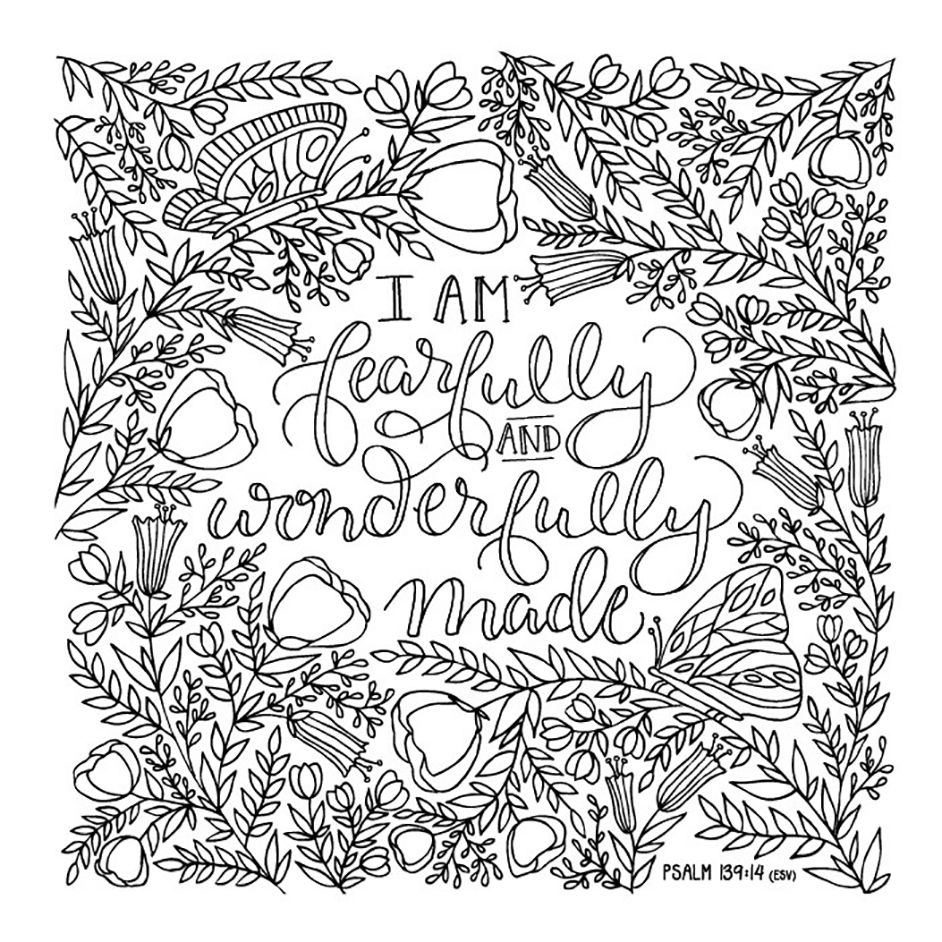 everything beautiful a coloring book for reflection and