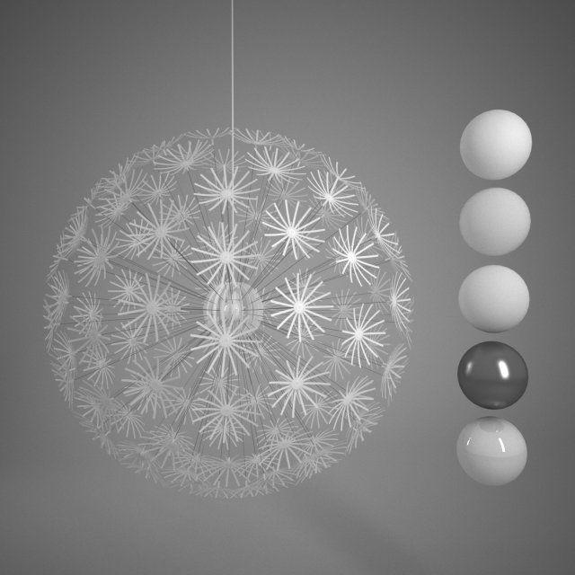 Suspension Maskros Affordable Full Size Chandelier Crystal