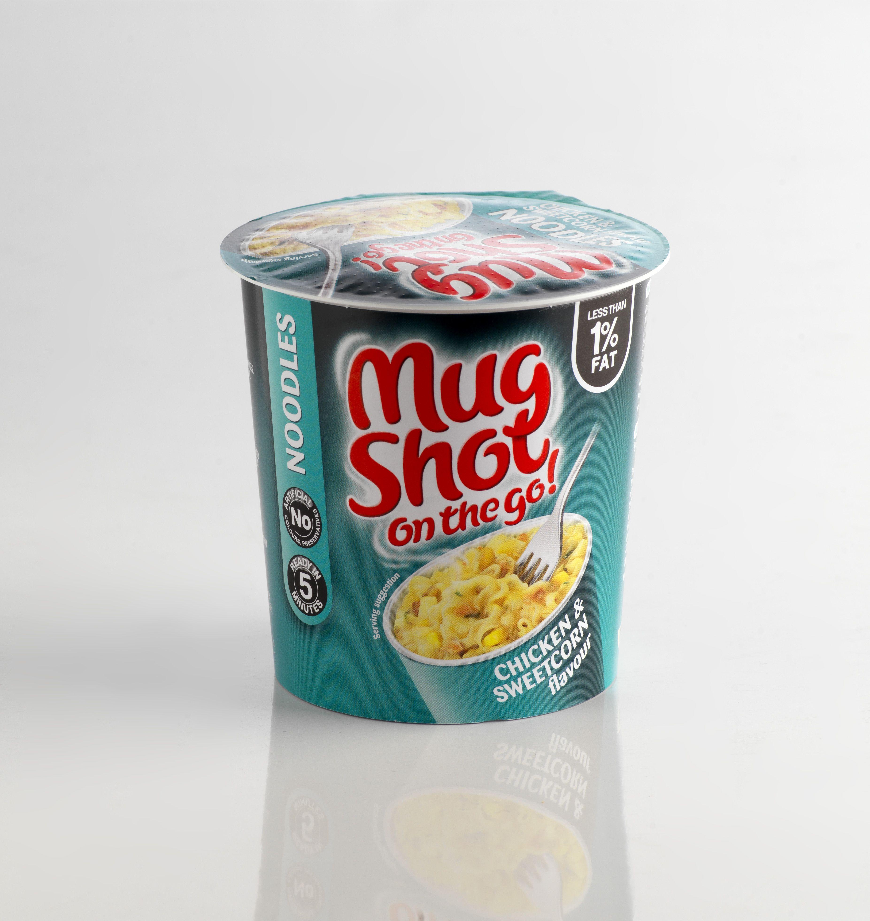 350g Desto- Mug Shot range  #packaging #desto #readymeal #noodles #design