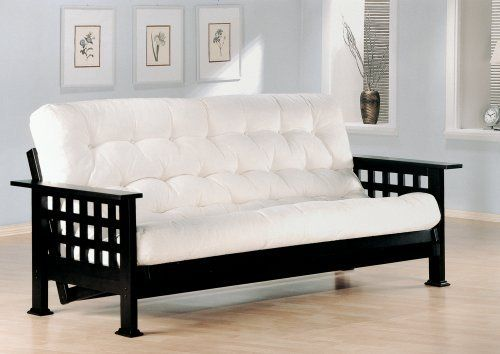 Futons Casual Futon Frame With Grid Design By Coaster The Collection 389 99