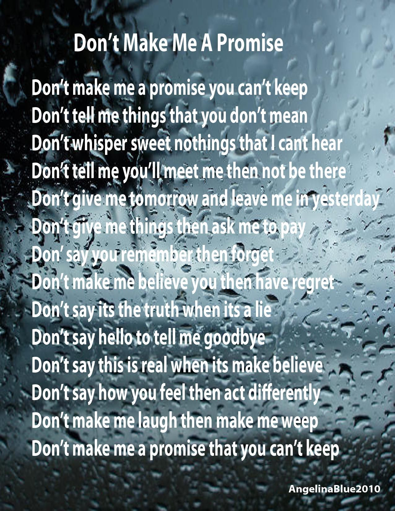 Promise Ring Poems 3