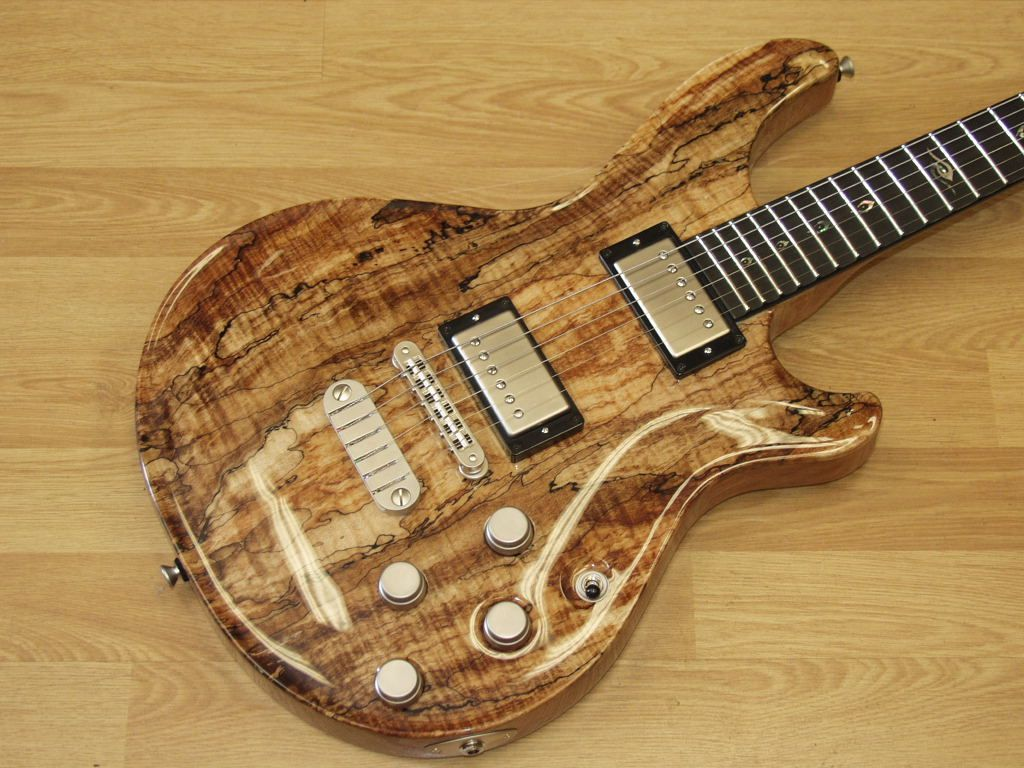 dean hardtail exotic with a spalted maple top like the stoptail inspiration guitar. Black Bedroom Furniture Sets. Home Design Ideas