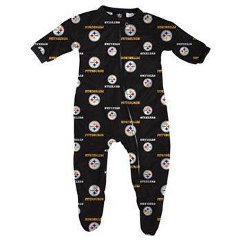 e8f4eb16de3fa Baby Pittsburgh Steelers Sleep and Play   I Love My Steelers ...