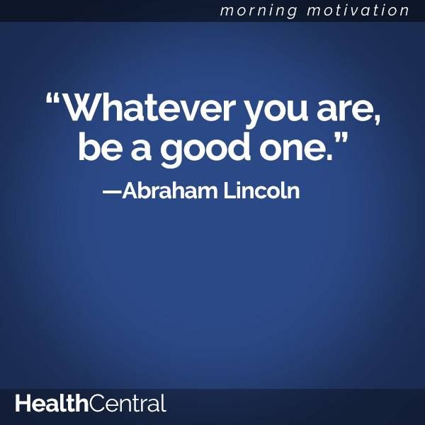 """Lincoln Quote Whatever You Are Be A Good One: """"Whatever You Are, Be A Good One."""" -Abraham Lincoln"""