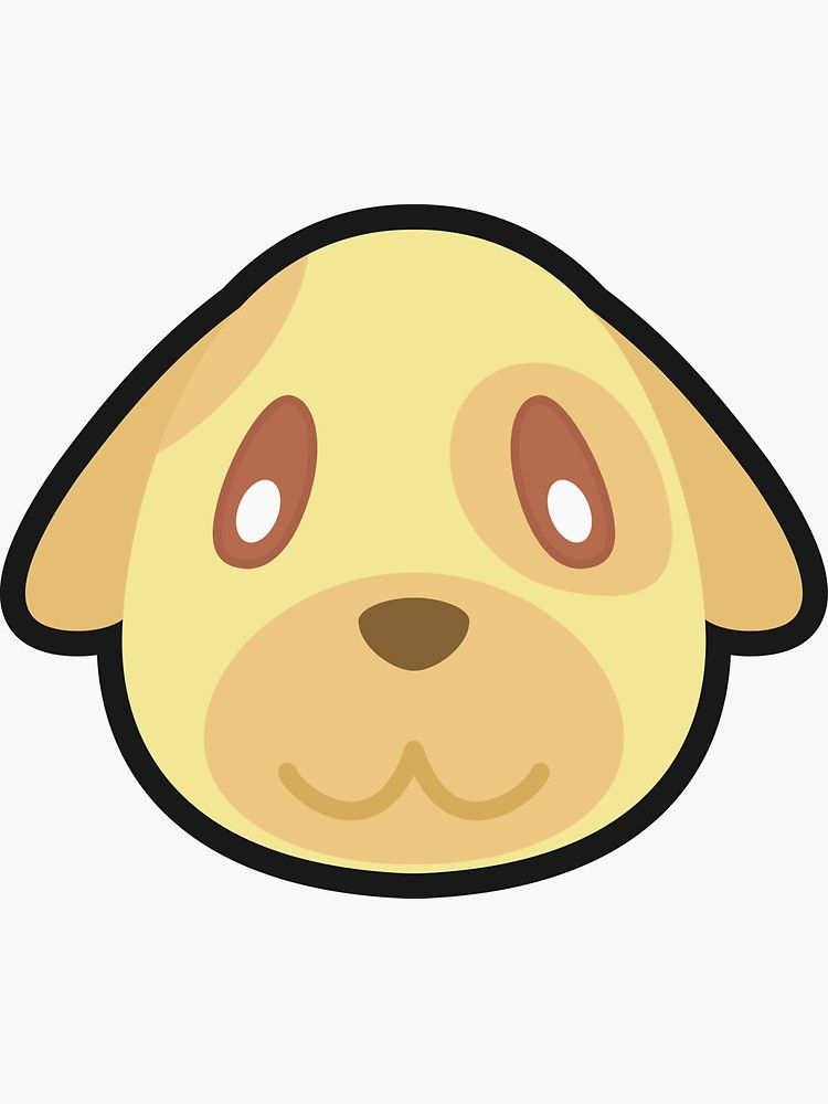 Goldie Animal Crossing Sticker By Purplepixel Animal Crossing