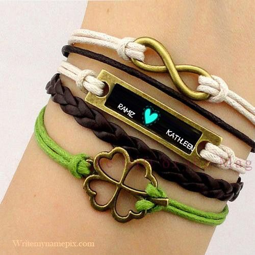 Write Name Alphabet Bracelet Photos Print Boy And First Letter Profile Pictures Create Anything Two A