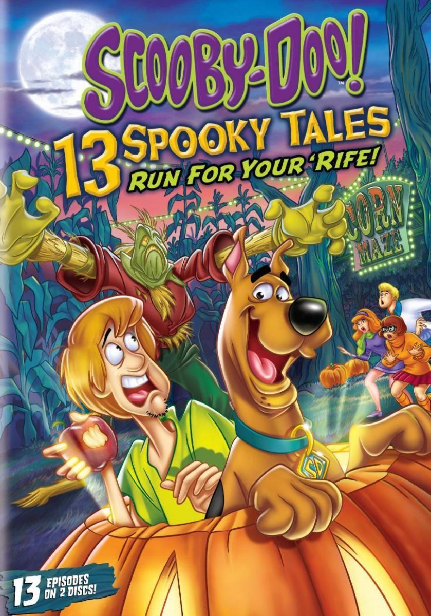 a cornucopia of frightfully fun scooby-doo adventures #halloween