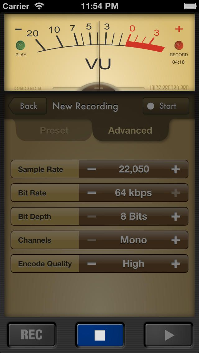 Voice Record Pro (ios) | AppCrawlr | Gear: iPhone | The voice