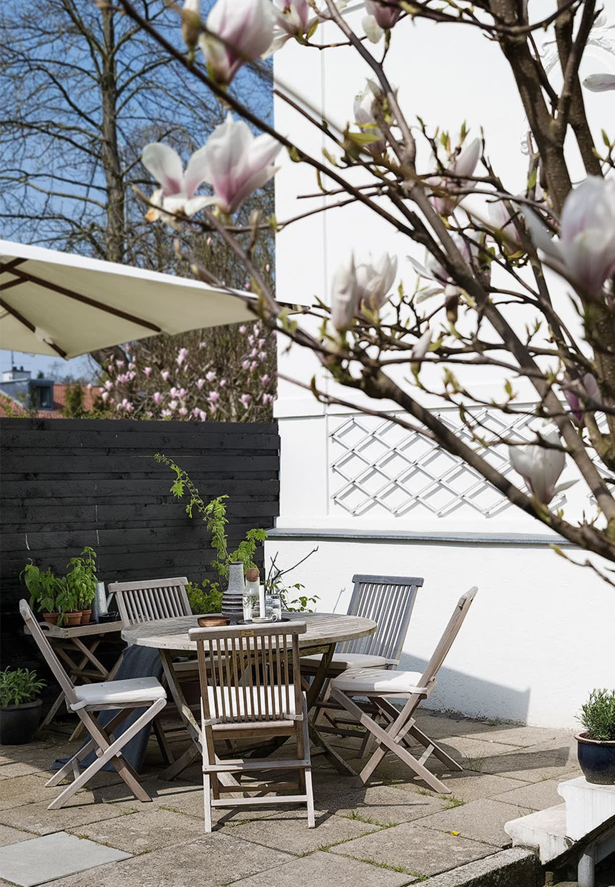 Solrig terrasse HOME TOURS Pinterest