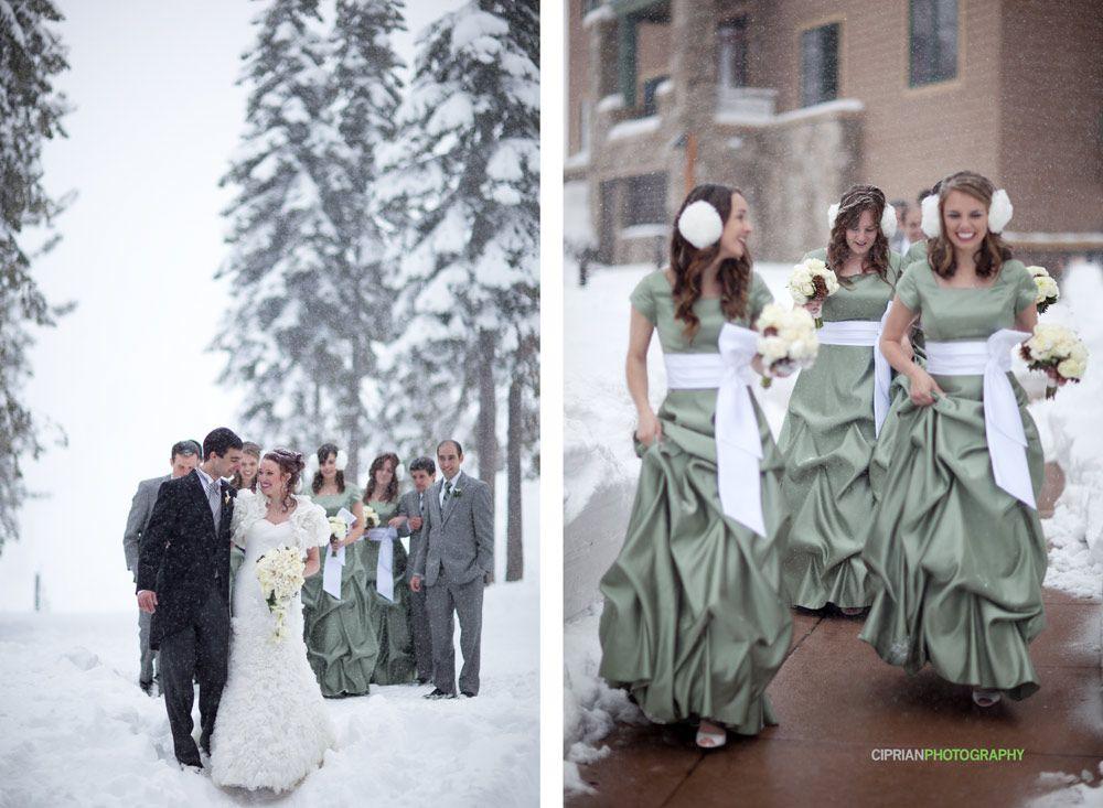 Winter Tahoe Wedding Ritz Carlton Lake Tahoe Lake Tahoe