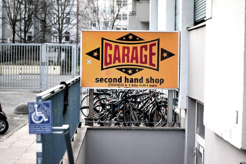 Kleidermarkt garage berlin germany