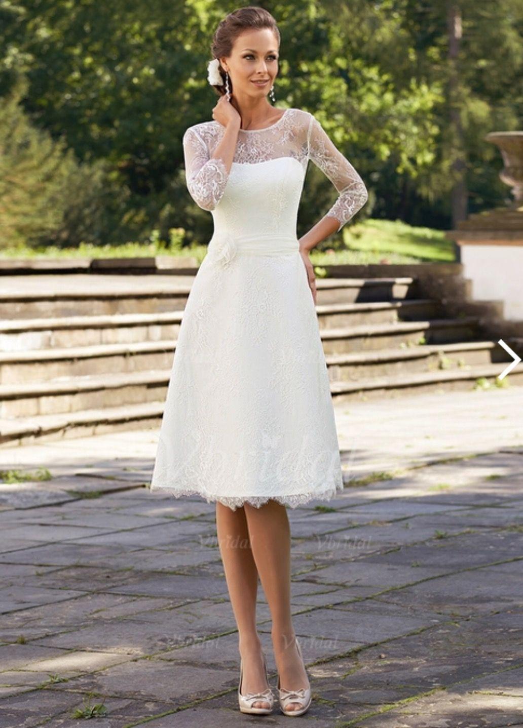 Idee von Kathi Wi auf Hochzeit | Weiße kleider kurz ...