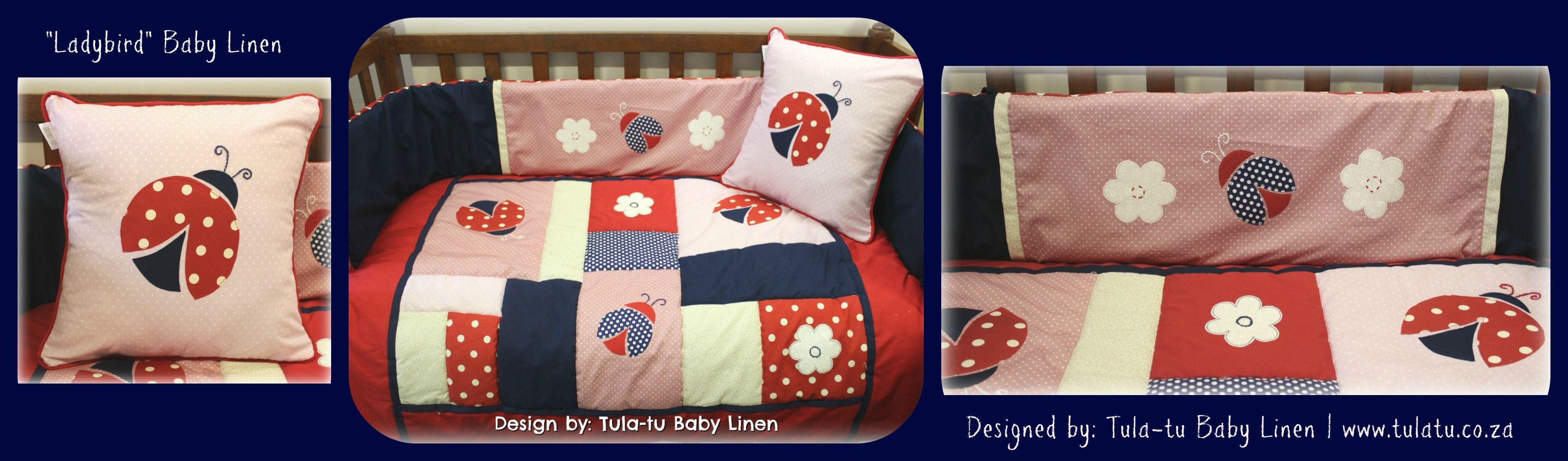 Baby cribs co za - Ladybird Ladybug Cot Linen Crib Linen Baby Linen Nursery Linen Designed By