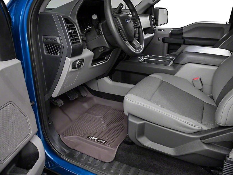 d793df5fe0958 Husky X-Act Contour Front Floor Liners - Cocoa (15-19 F-150 SuperCab ...