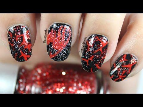 anime nail art  fairy tail inspired nails  youtube