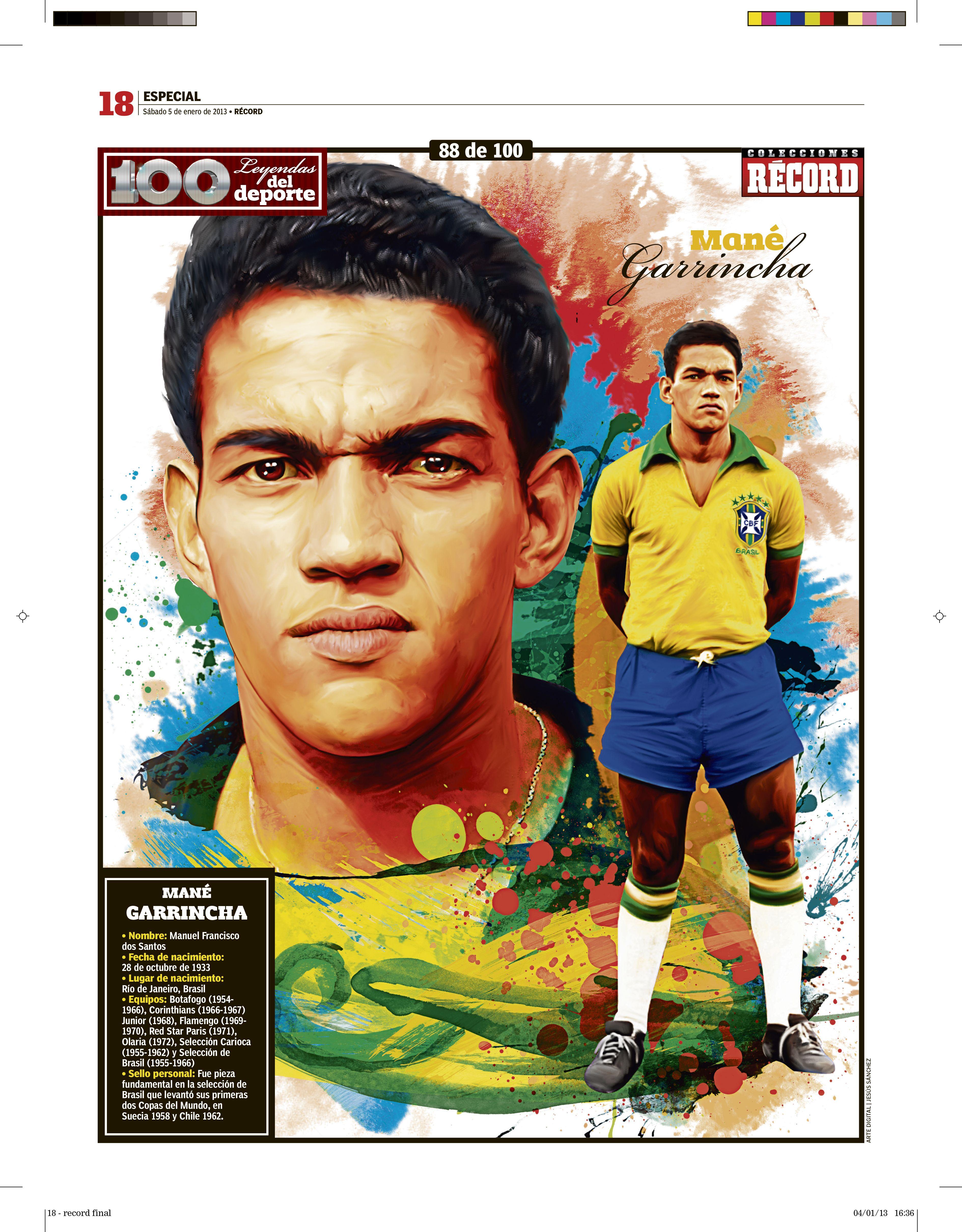 Garrincha Futbol Pinterest