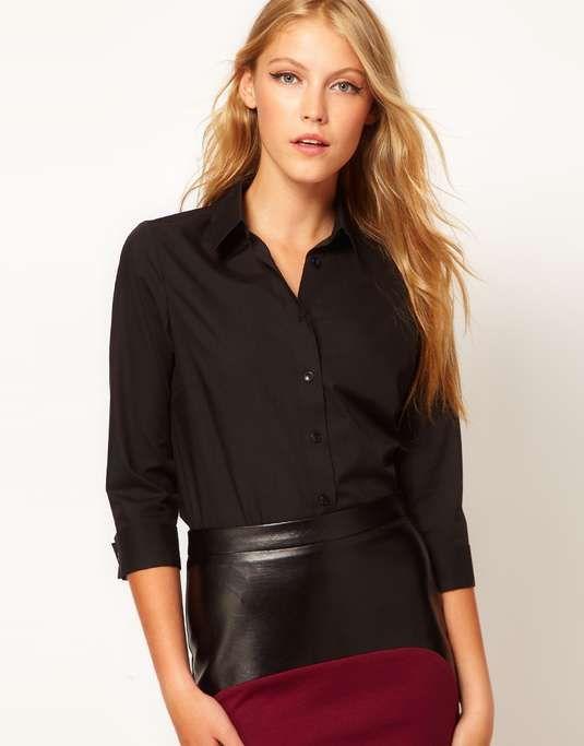ASOS | 3/4 Sleeve Shirt #asos #shirt