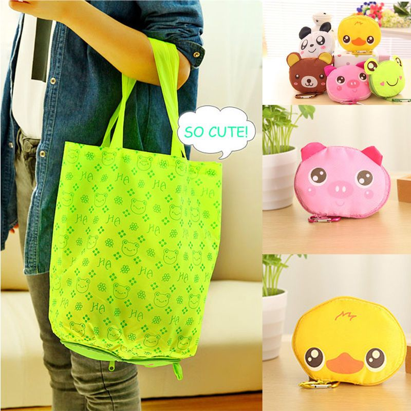New Eco Shopping Travel Shoulder Bag Pouch Tote Handbag Folding Reusable Bags
