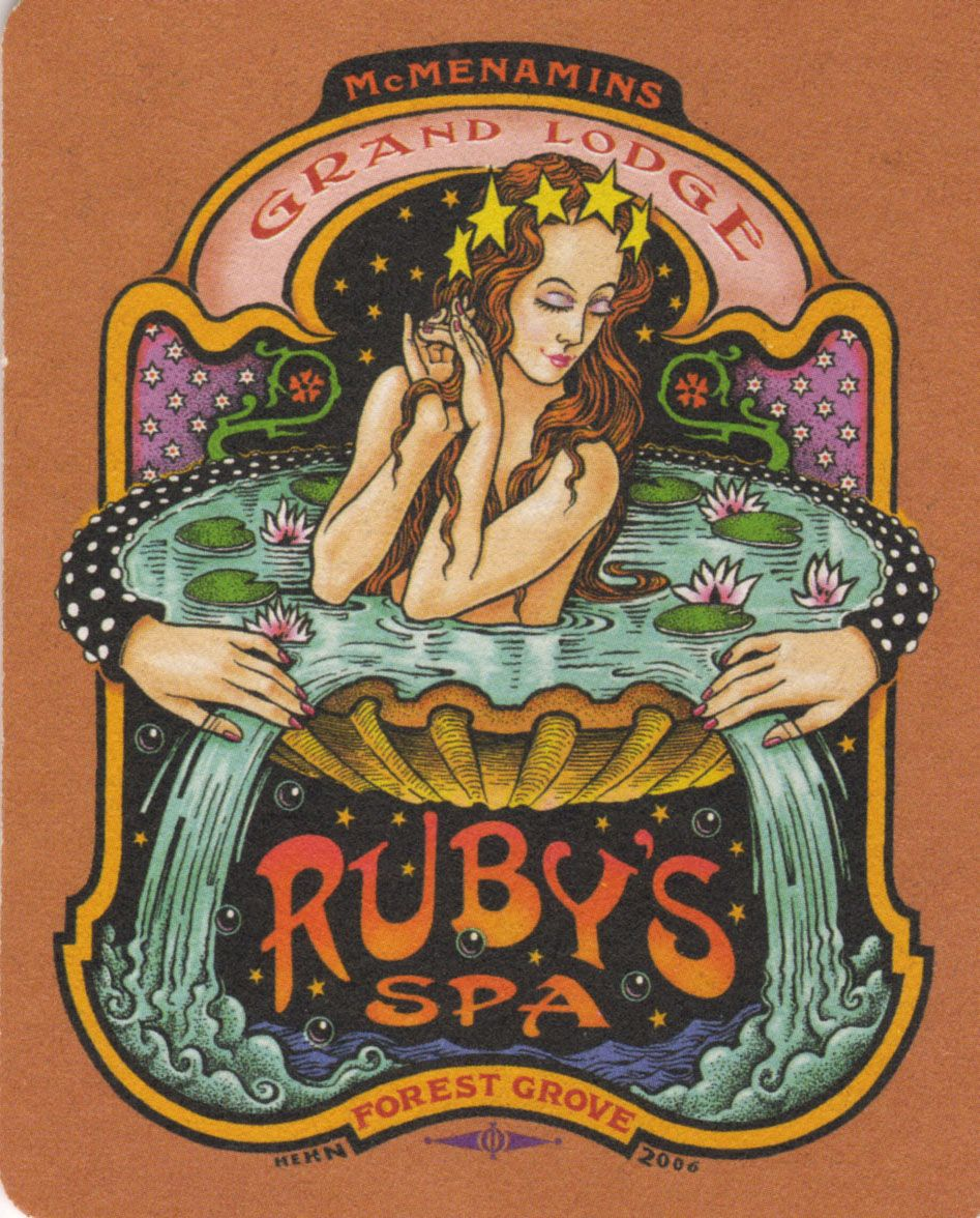 Ruby s Spa coaster  b135202b1