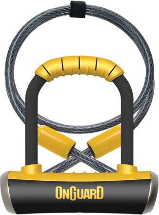 Onguard Pitbull Mini Dt U Lock Combination Black Mini