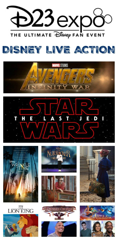 Disney, Marvel Studios, and LucasFilm LiveAction