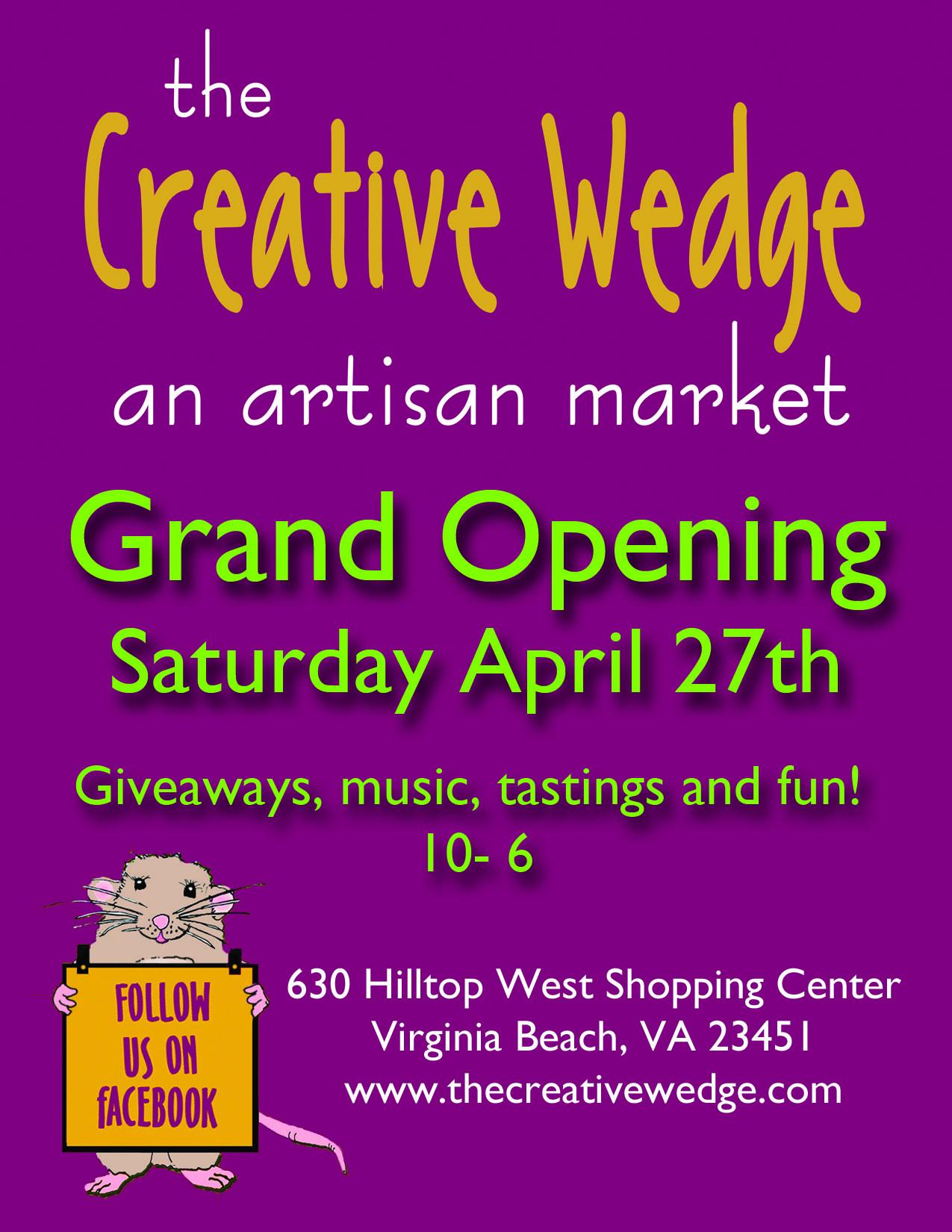 Grand Opening! Grand opening, Virginia beach, Shopping