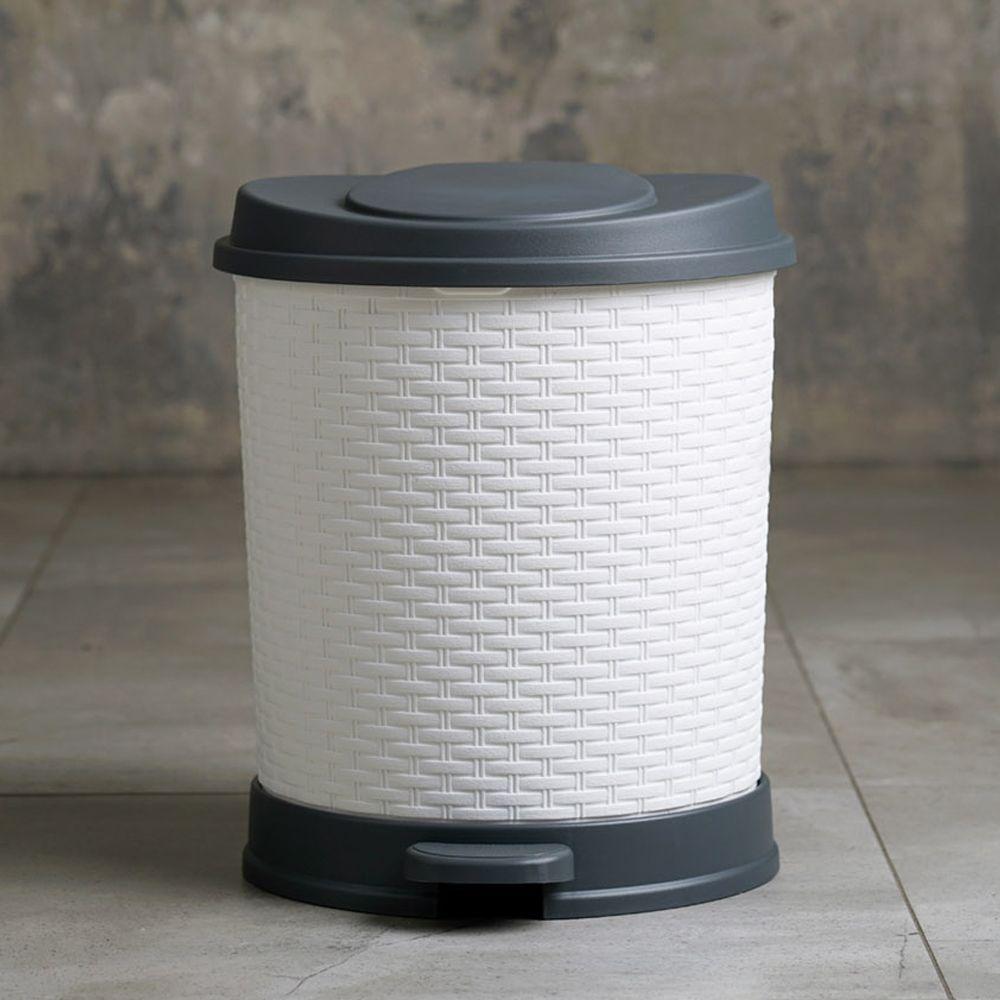 바스클립 디자인 휴지통 7l 4color 2020 쓰레기통 주방용품 디자인