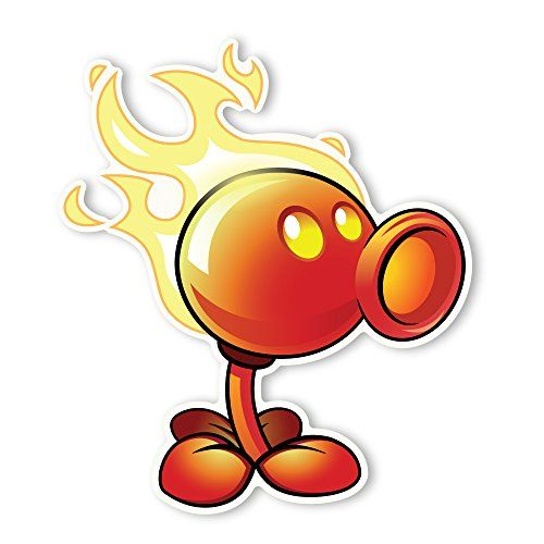 Plants Vs Zombies 2 Wall Decal Fire Peashooter 105 In X 12 In Read More Reviews Of The Product By Visiting The Link Plant Zombie Plants Vs Zombies Zombie 2