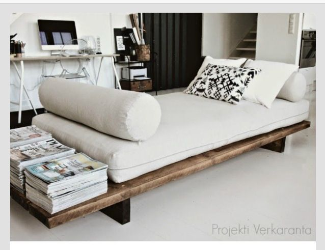 Diy Lounge Bench Diy Daybed Sofa Design Home